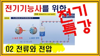 02 전기기능사 필기 (전류와 전압)