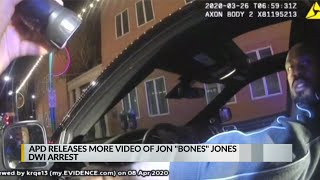 APD releases more video of Jon 'Bones' Jones DWI arrest