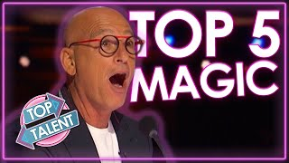 MOST MESMERISING Magician Auditions On America's Got Talent 2021! | Top Talent