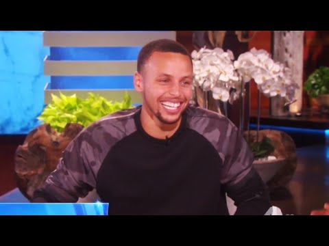 Stephen Curry on The Ellen Show (Part 2) FULL Interview