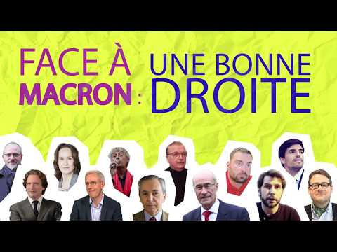 « Face à Macron : une bonne droite ! » - 3e Forum de la Dissidence (18/11)
