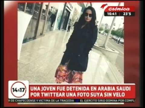 Joven detenida por subir una foto suya a red social sin velo