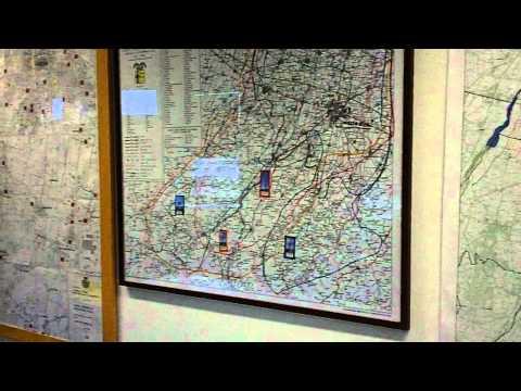 Sala radio protezione civile Parma