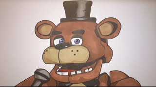 How To Draw Freddy Fazbear From Five Nights At Freddy