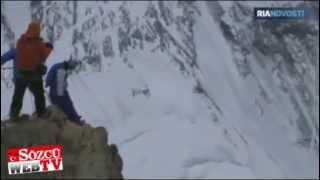 AMAZİNG Everest ten atladı dünya rekoru kırdı