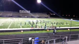 Shenandoah Zeps Marching Band   State Final OMEA 2014