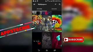 Review of apps:app for best wallpapers and ringtones