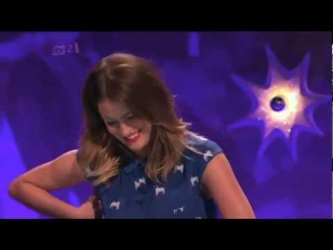 Caroline Flack Talking About Harry Styles on Celebrity Juice