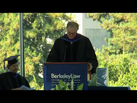 2016 Master of Laws (LL.M.)  Commencement Ceremony, UC Berkeley School of Law