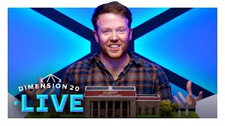 Sophomores Start [Full Episode] | Dimension 20 Live