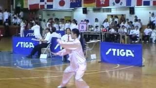 2010年第三屆世界盃太極拳錦標賽 42式太極拳 女子甲組 第一名 涂又文