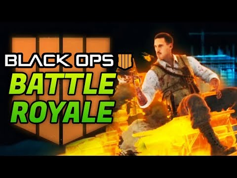 BLACK OPS 4 BATTLE ROYALE TRAILER: ZOMBIES CHARACTERS & MORE! (BO4 Blackout Mode)