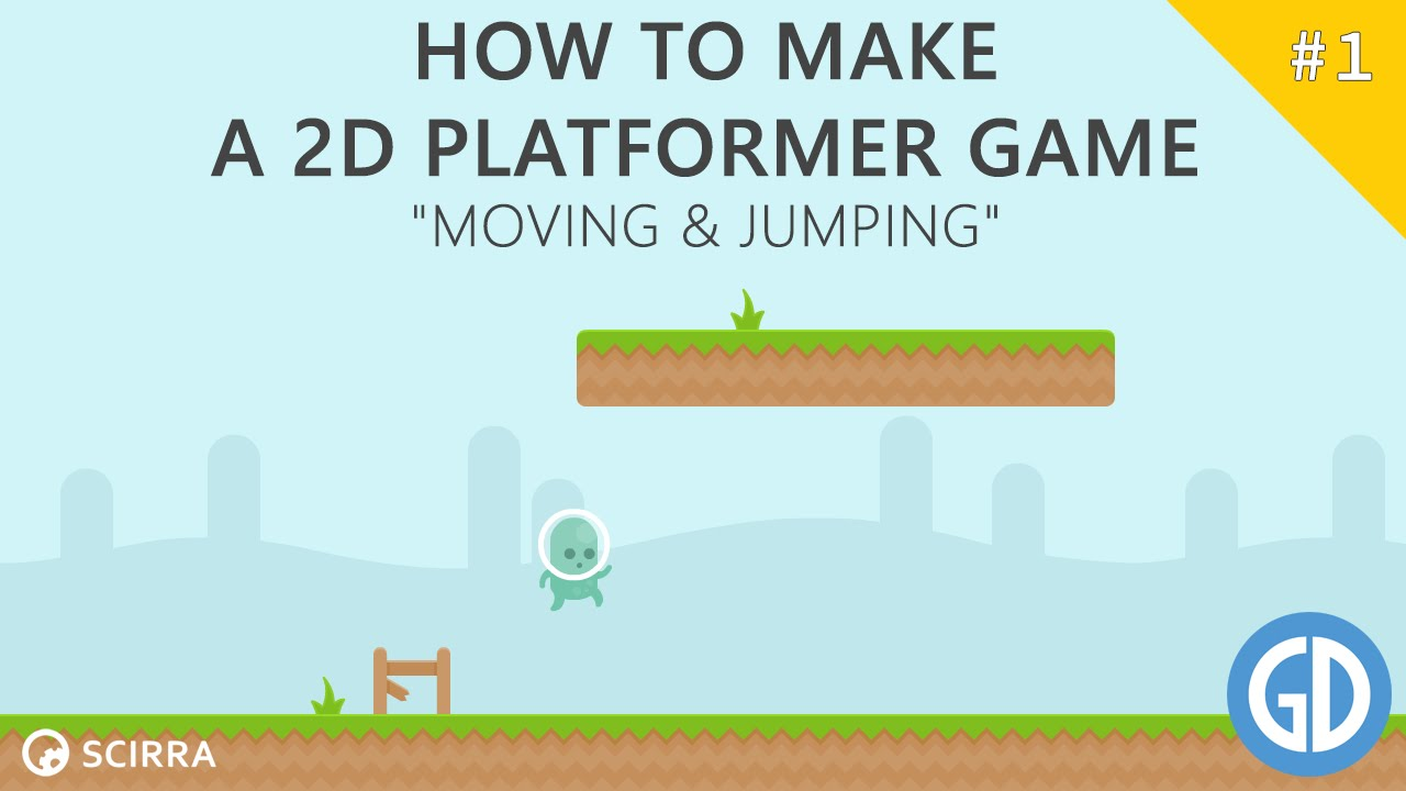1 How To Make A 2d Platformer Game Moving Jumping Construct 2 Tutorial Youtube