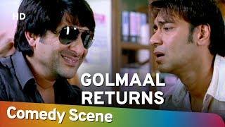 Golmaal Returns - Arshad Warsi - Superhit Comedy Scene - Shemaroo Bollywood Comedy