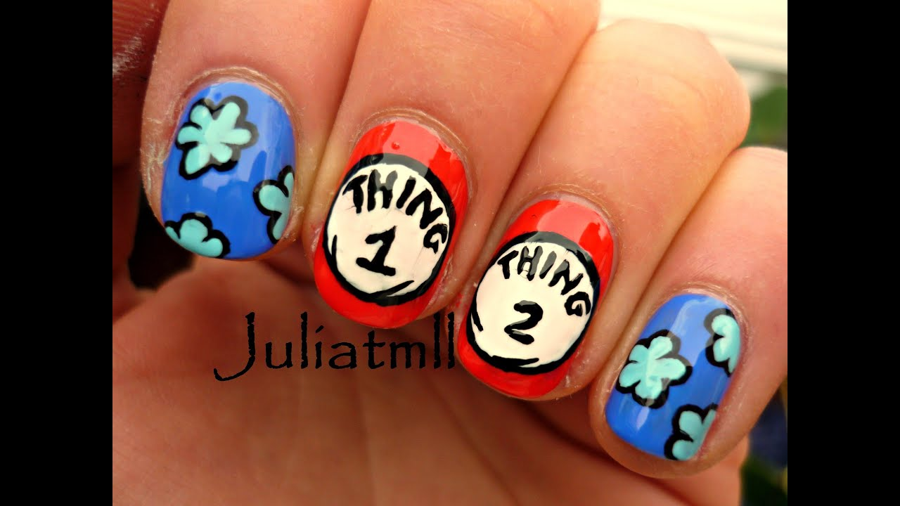 Thing 1 Thing 2 Nails Youtube