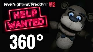 [360 video] Horror Five Nights at Freddy's VR Help Wanted 360° Immersive Virtual Reality Experience