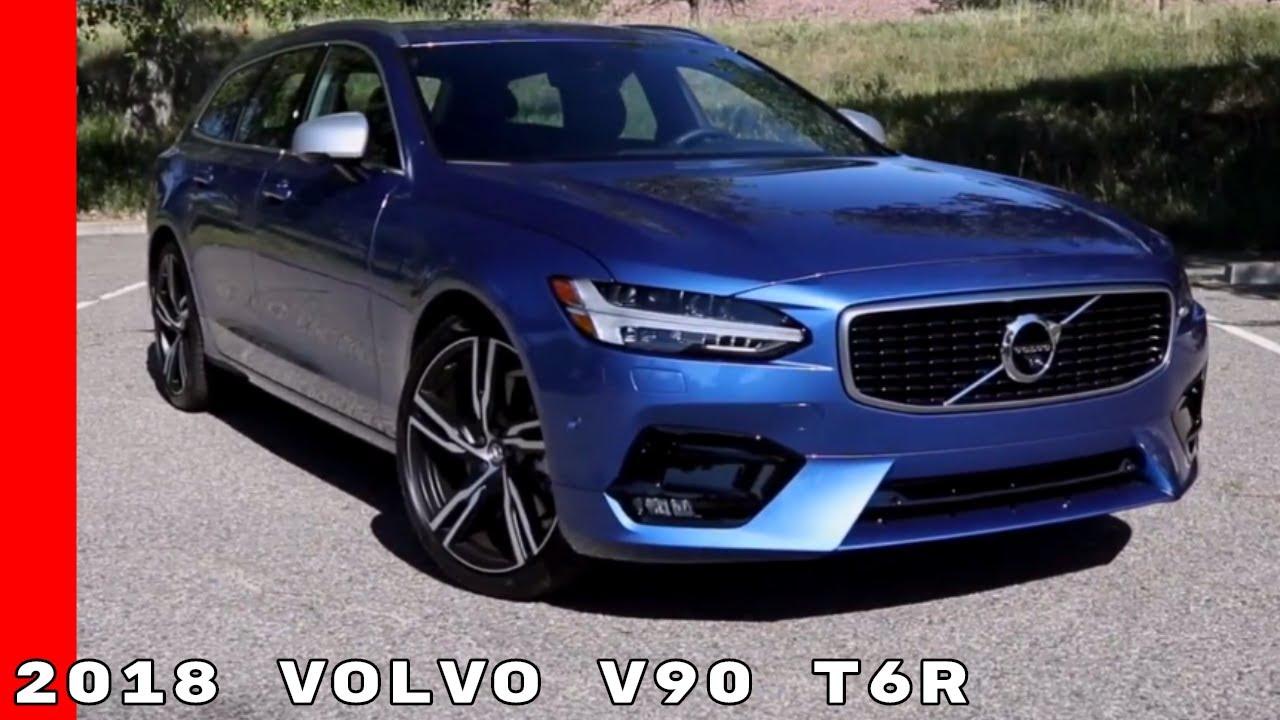 2018 Volvo V90 T6R - YouTube