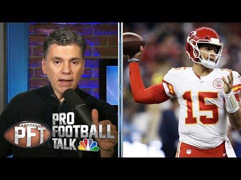 Would You Rather Have Patrick Mahomes Or Lamar Jackson?   Pro Football Talk   NBC Sports