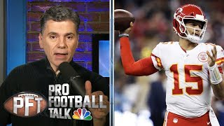 Would you rather have Patrick Mahomes or Lamar Jackson? | Pro Football Talk | NBC Sports