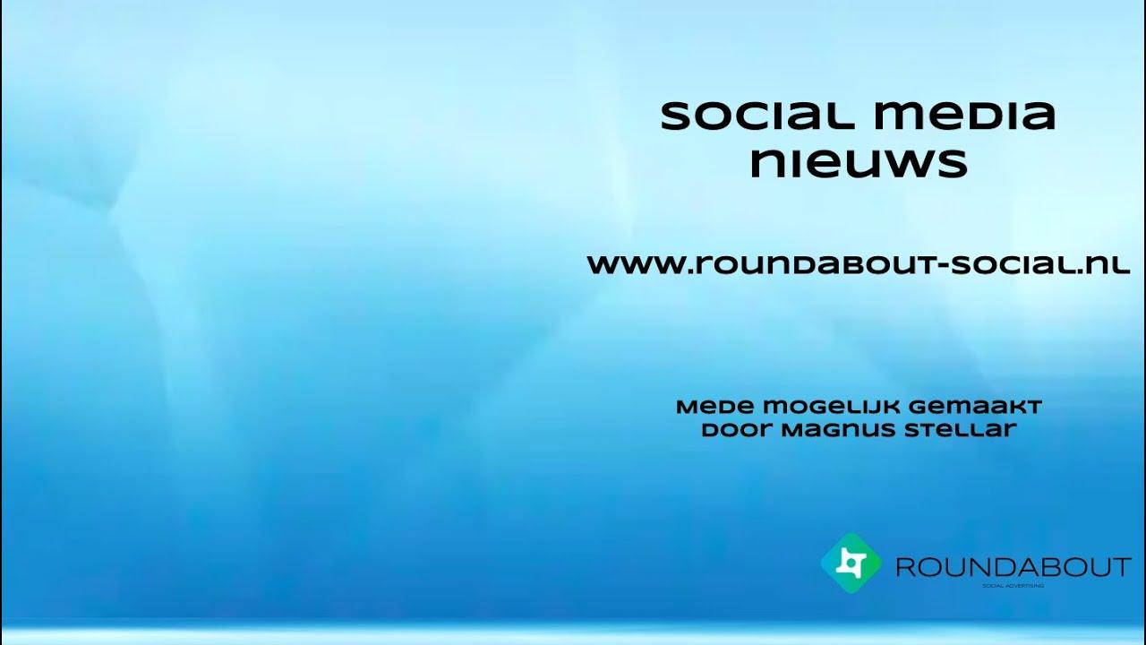 Het social media journaal van week 20