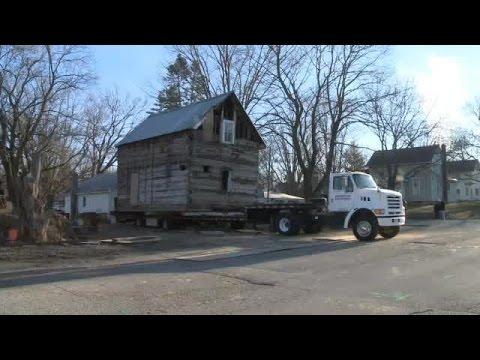Draper cabin moved