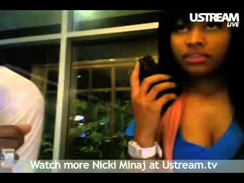 Nicki Minaj Call's A User's Ex Boyfriend On UStream
