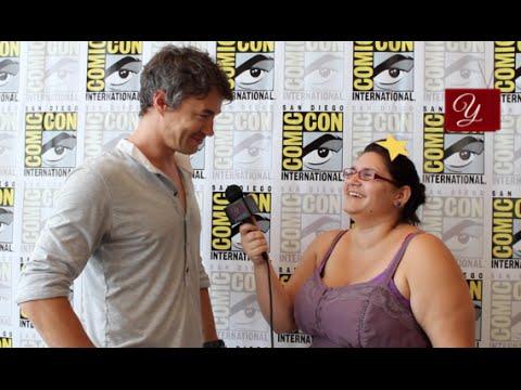 Dominion | Tom Wisdom | Interview from San Diego ComicCon 2014 | yael.tv