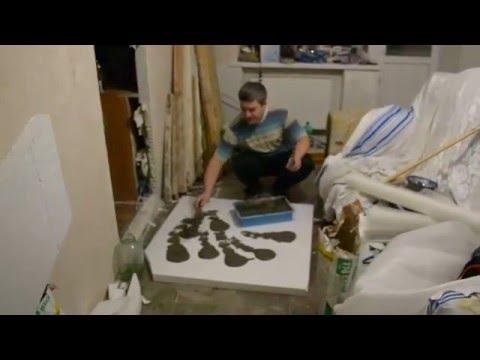 видео: Потолок своими руками(Как я креплю пенопласт)