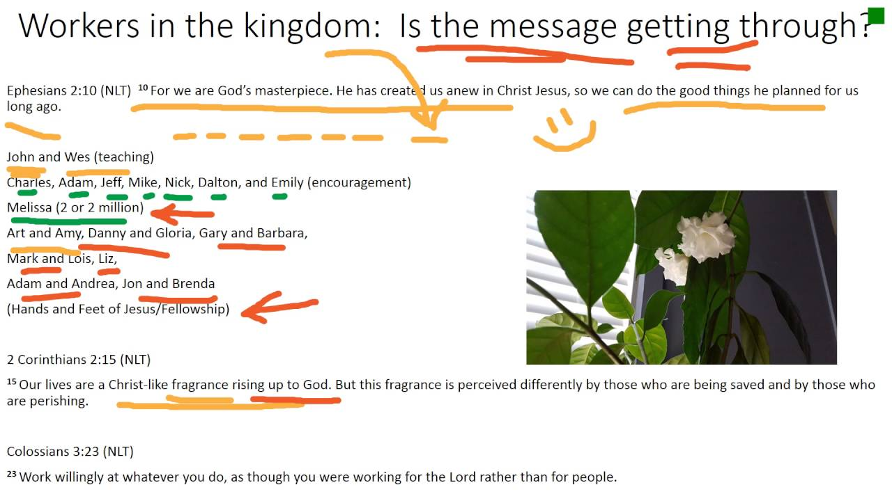 Workers in the Kingdom: Is the message getting through?