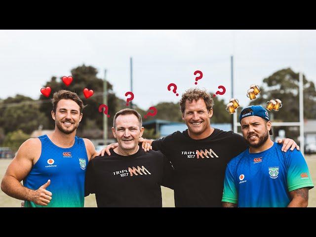 Catching Up With NZ Warriors Karl Lawton & Jazz Tevaga | Triple M
