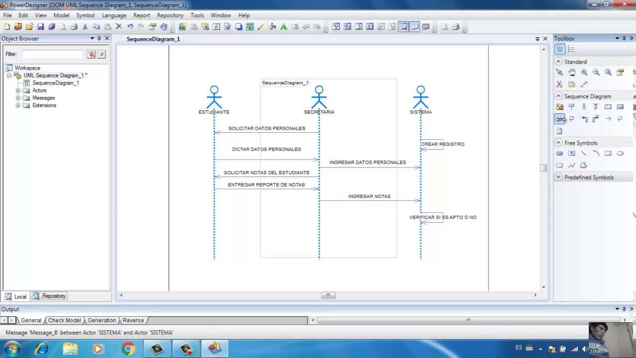 222s power designer modelo uml sequence diagram youtube 222s power designer modelo uml sequence diagram ccuart Gallery