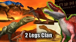 2 Legs Clan Dinosaur - Dinomaster