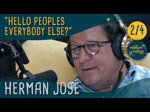 "Maluco Beleza - "" Hello peoples everybody else?"" - Herman José (pt2)"