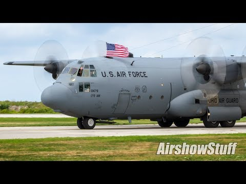 C-130 Hercules Demonstration - Cleveland National Airshow 2017