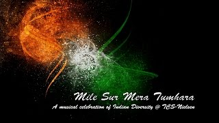 Mile Sur Mera Tumhara - A musical celebration of diversity @ TCS-Nielsen