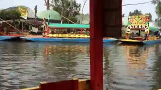 Chinampas of Lake Texcoco Mexico Today Canals of Xochimilco