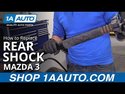 How to Replace Rear Shock 10-13 Mazda 3