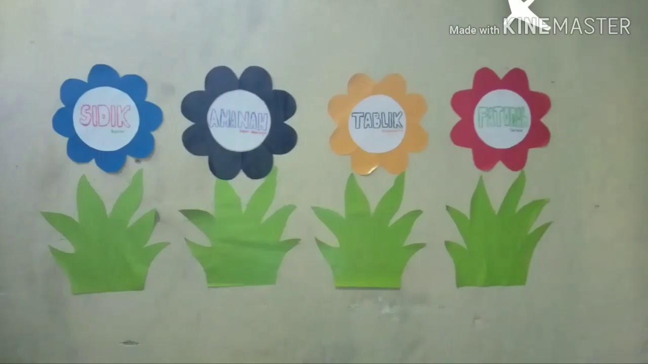 Tutorial Cara Membuat Hiasan Dinding Kelas Gurupenggeraktubaba Belajardarirumah Youtube Contoh hiasan dinding kelas tk