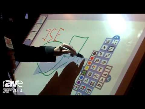 ISE 2014: Nautilus Demonstrates the Netboard Flip Interactive Table/Whiteboard