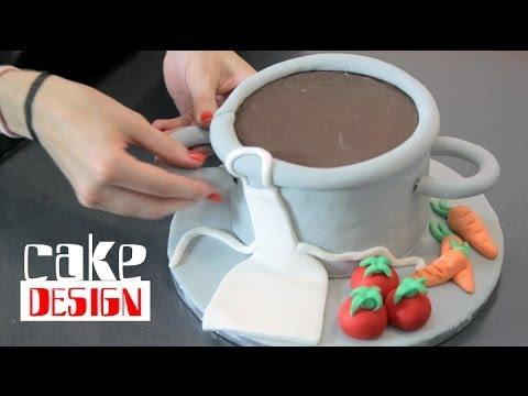 g teau sur le th me de la cuisine cake design la d co c 39 est du g teau youtube. Black Bedroom Furniture Sets. Home Design Ideas