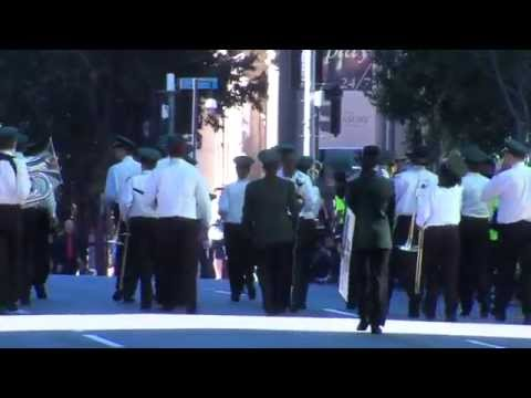 2014 Australian National Band Championships: Street March