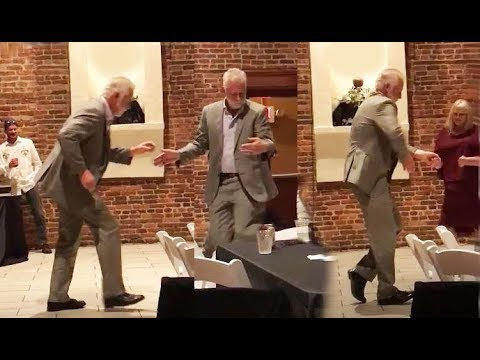 OLD GUY DANCING busts some serious dance moves! See our interview with Pete Vinal! Link below.