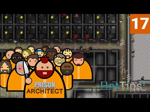 Prison Architect 2.0 - Ep 17 - Hot Water is Expensive - Let's Play