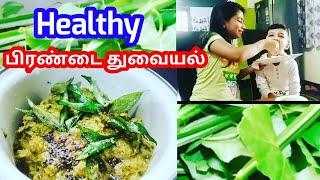 பரணட தவயல  Pirandai Chutney in Tamil  Health benefits of pirandai   பரணட மரததவகணம