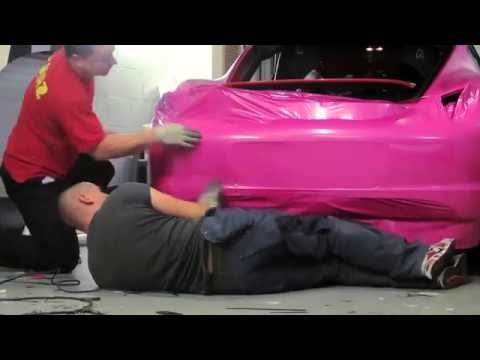 Porsche Cayman Glitter Pink Wrap
