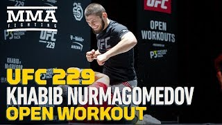 Khabib Nurmagomedov UFC 229 Open Workout (Complete) - MMA Fighting