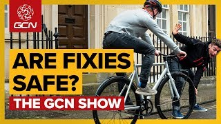 How Safe Are Fixed Gear Bikes On City Streets? | Gcn Show Ep. 326