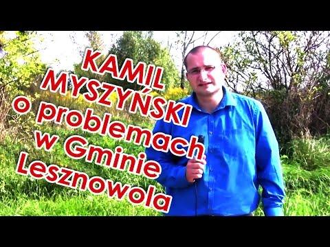 Kamil Myszyński - kandydat do Rady Gminy Lesznowola - o błędach obecnej kadencji