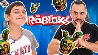 СТРОЙКА АТТРАКЦИОНА В РОБЛОКС! Папа Роб и Ярик играют в Roblox со Спрингтрапом!