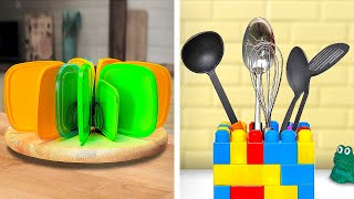 SMART KITCHEN ORGANIZATION HACKS || 5-Minute Recipes To Improve Your Cooking Skills